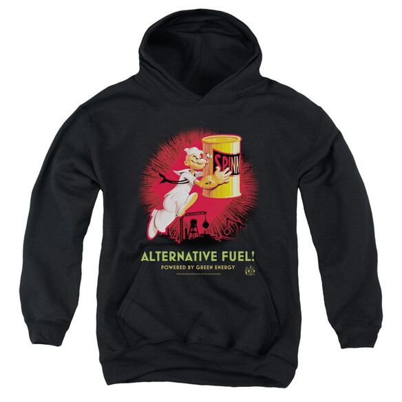 Popeye Alternative Fuel Youth Pull Over Hoodie