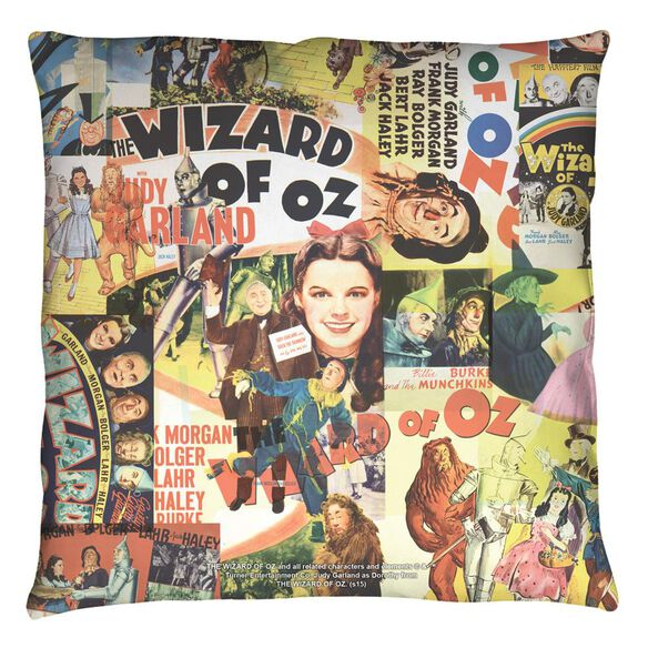 Wizard Of Oz Collage Throw
