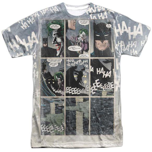 Batman Last Laugh Short Sleeve Adult Poly Crew T-Shirt