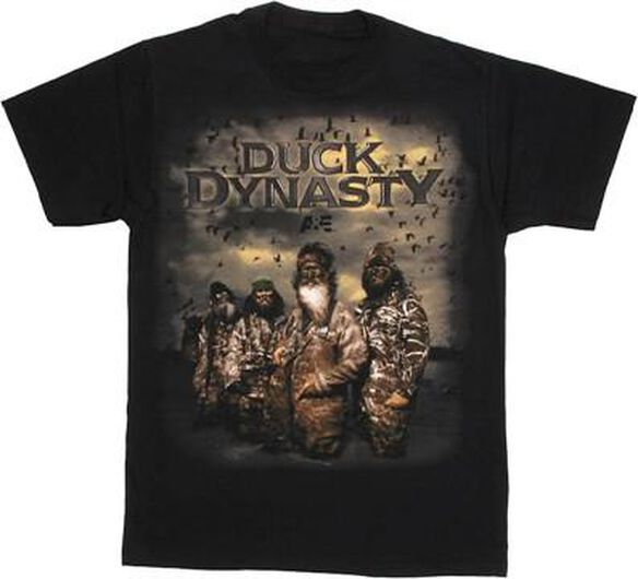 Duck Dynasty Group Poster T-Shirt