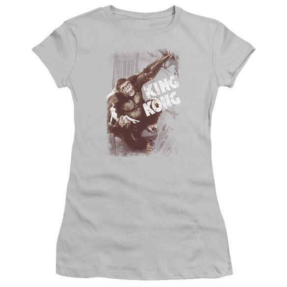 King Kong Sepia Snag Short Sleeve Junior Sheer T-Shirt