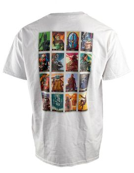Star Wars The Mandalorian 16 Cards T-Shirt