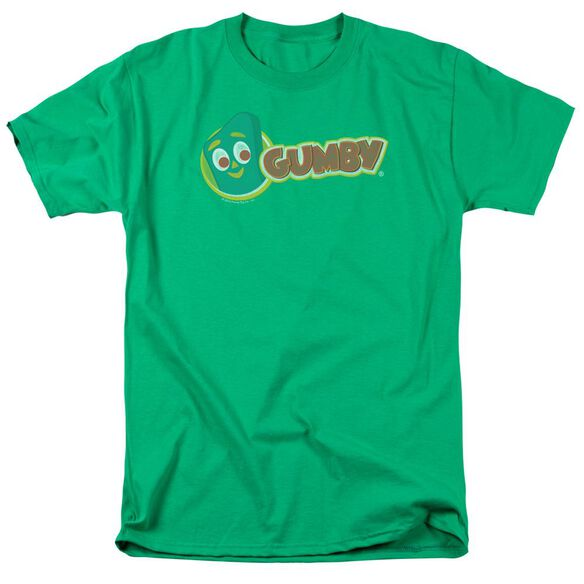 GUMBY LOGO - S/S ADULT 18/1 - KELLY GREEN T-Shirt