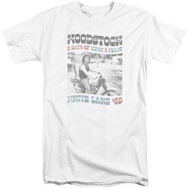 Woodstock Rider Short Sleeve Adult Tall T-Shirt