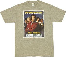 Anchorman Poster T-Shirt