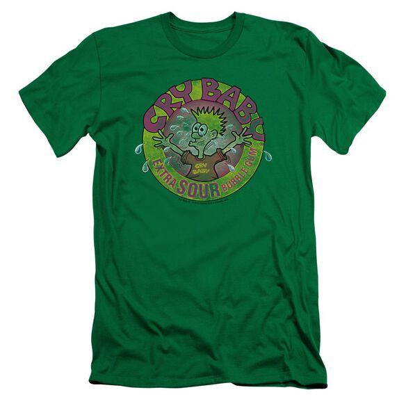 Dubble Bubble Logo Short Sleeve Adult Kelly T-Shirt