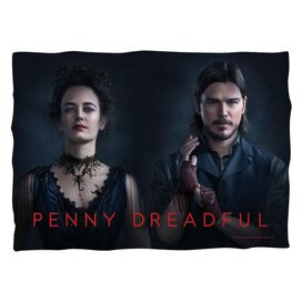 Penny Dreadful Chandler And Ives Pillow Case White