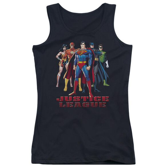 Jla In League Juniors Tank Top
