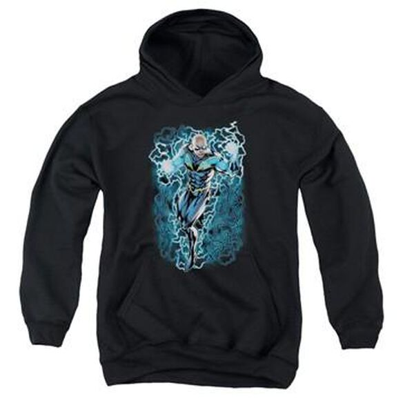 Black Lightning Youth Hoodie