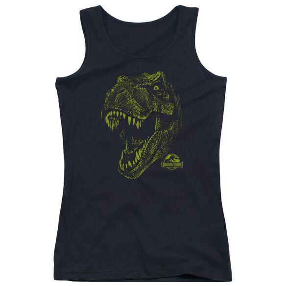 Jurassic Park Rex Mount Juniors Tank Top
