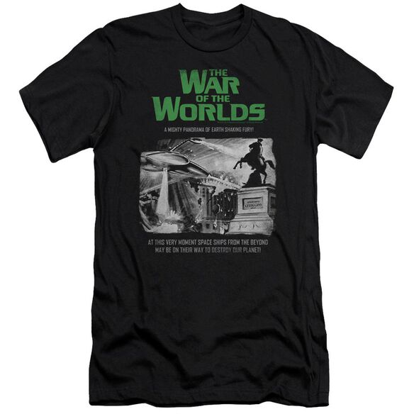 War Of The Worlds Attack People Poster Short Sleeve Adult T-Shirt