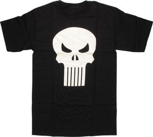 Punisher Skull Logo Glow T-Shirt