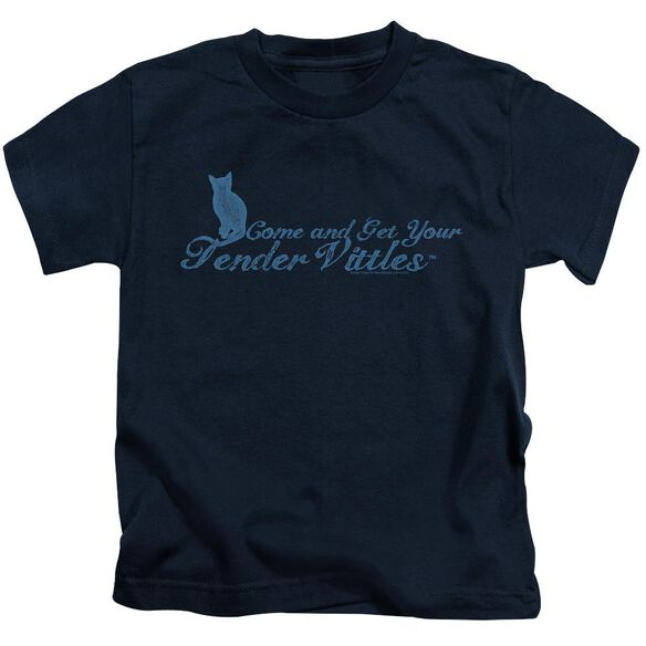 Tender Vittles Come And Get Em Short Sleeve Juvenile Navy T-Shirt