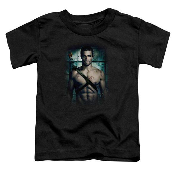 Arrow Shirtless Short Sleeve Toddler Tee Black T-Shirt