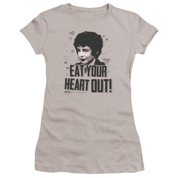 Grease Eat Your Heart Out Premium Bella Junior Sheer Jersey