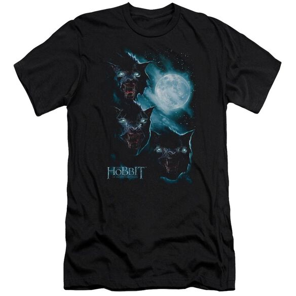 The Hobbit Three Warg Moon Short Sleeve Adult T-Shirt