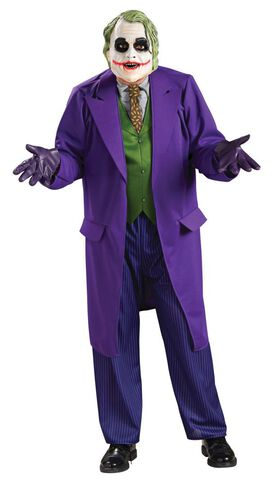 The Joker Deluxe Adult Muscle Chest Jumpsuit Costume