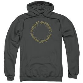 Lord Of The Rings One Ring Adult Pull Over Hoodie