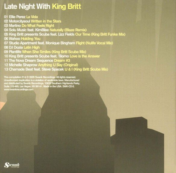 Late Night With King 0905