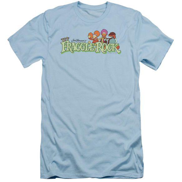 Fraggle Rock Leaf Logo Short Sleeve Adult Light T-Shirt