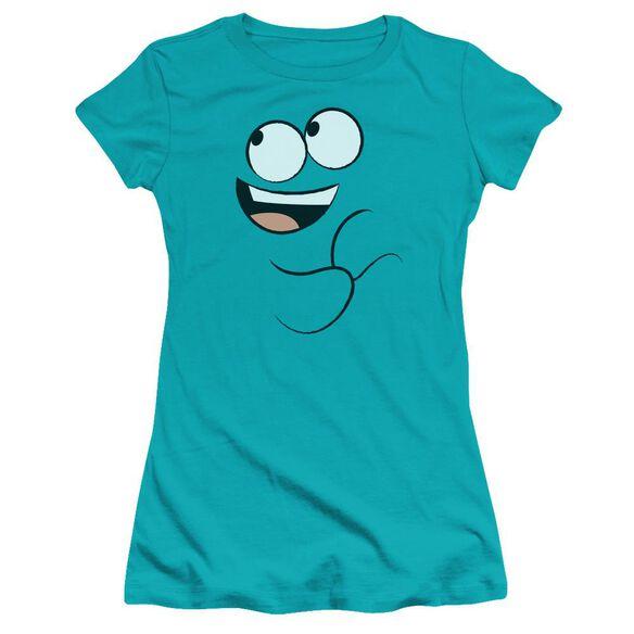 Foster's Home Of Imaginary Friends Blue Smile Premium Bella Junior Sheer Jersey
