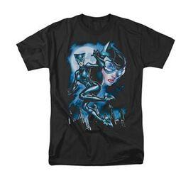 Catwoman Moonlight Cat T-Shirt