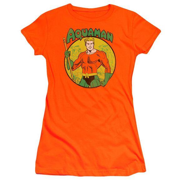 Dc Aquaman Premium Bella Junior Sheer Jersey