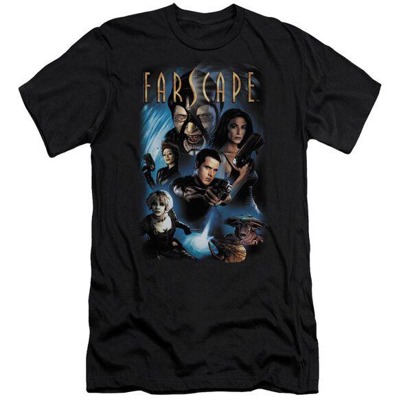 FARSCAPE COMIC COVER - S/S ADULT 30/1 - BLACK T-Shirt