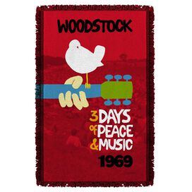 Woodstock Classic Woven Throw
