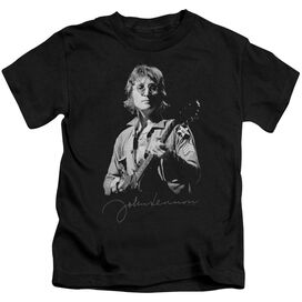 John Lennon Iconic Short Sleeve Juvenile Black T-Shirt