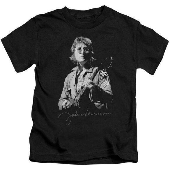 John Lennon Iconic Short Sleeve Juvenile Black T-Shirt