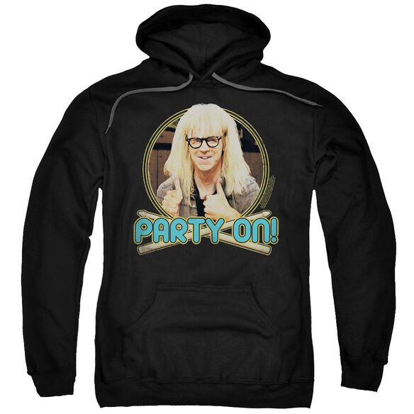 Snl Party On Garth Adult Pull Over Hoodie