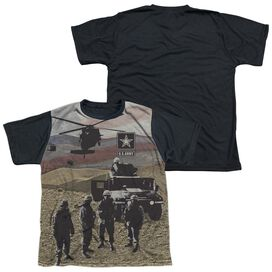 Army Values Short Sleeve Youth Front Black Back T-Shirt