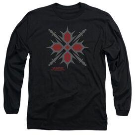 Vampire Knight Hunter Symbol Long Sleeve Adult T-Shirt