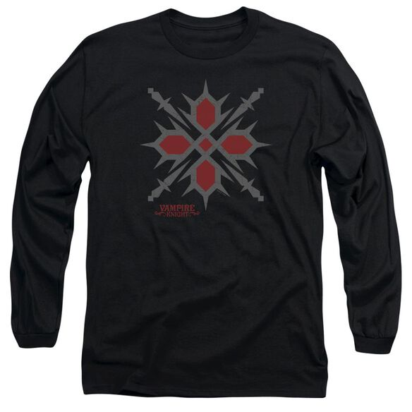 Vampire Knight Hunter Symbol Long Sleeve Adult T-Shirt
