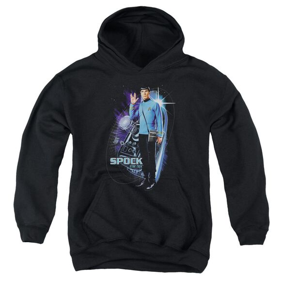 Star Trek Galactic Spock Youth Pull Over Hoodie