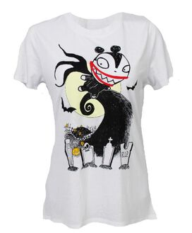 Nightmare Before Christmas Vampire Teddy Women's T-Shirt