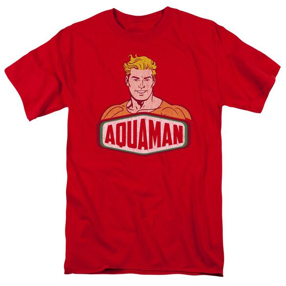 Dco Aquaman Sign Short Sleeve Adult T-Shirt