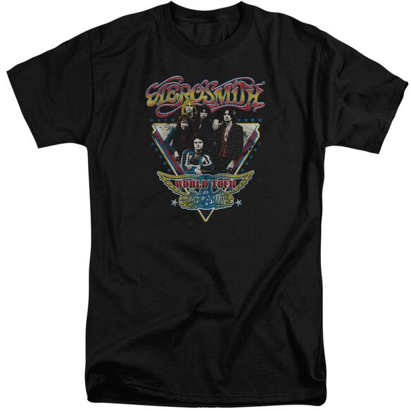 Aerosmith Triangle Stars Short Sleeve Adult Tall T-Shirt