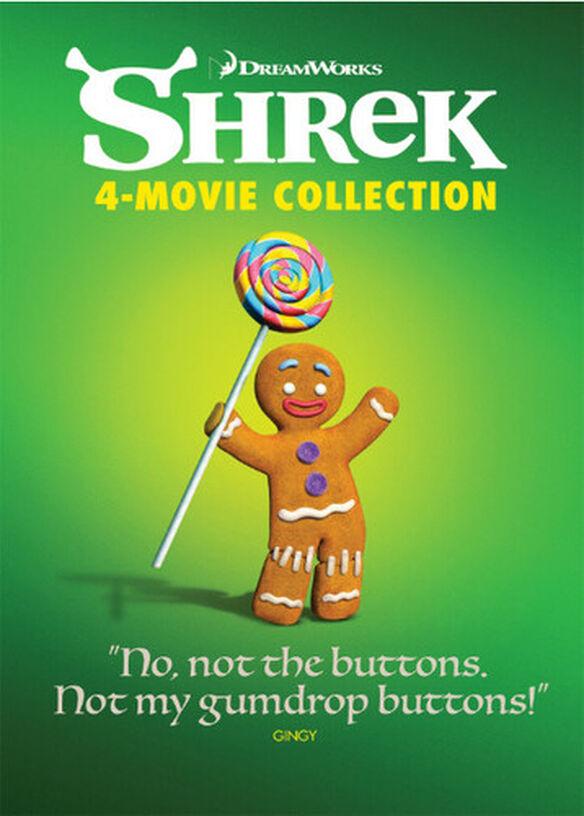 Shrek 4-movie: Anniversary Edition Collection