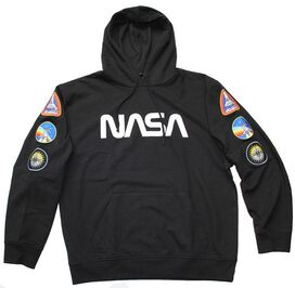 NASA w/ Patches Pull Over Hoodie