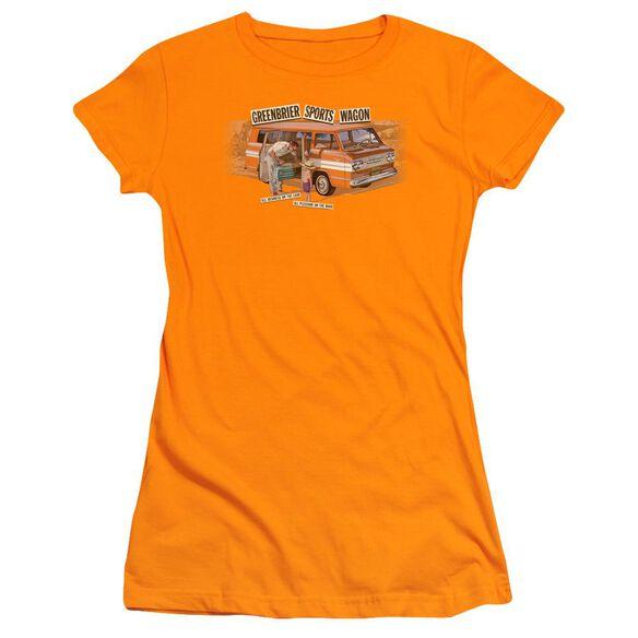 Chevrolet Greenbrier Corvair Sport Wagon Short Sleeve Junior Sheer T-Shirt