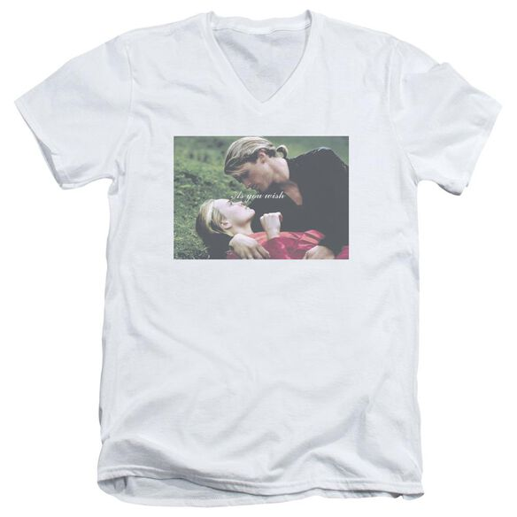Princess Bride As You Wish Short Sleeve Adult V Neck T-Shirt