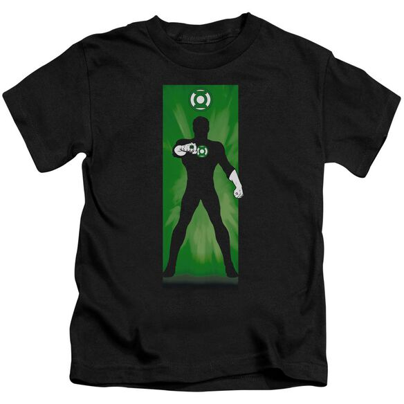 Dc Green Lantern Block Short Sleeve Juvenile T-Shirt