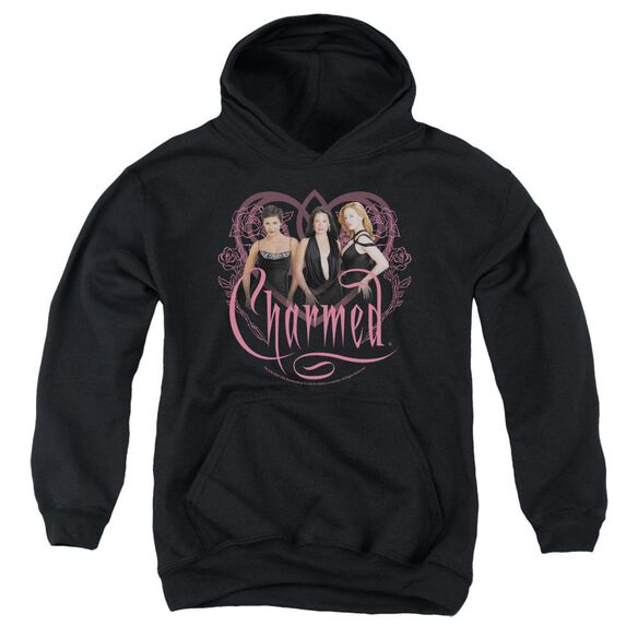 Charmed Charmed Girls Youth Pull Over Hoodie