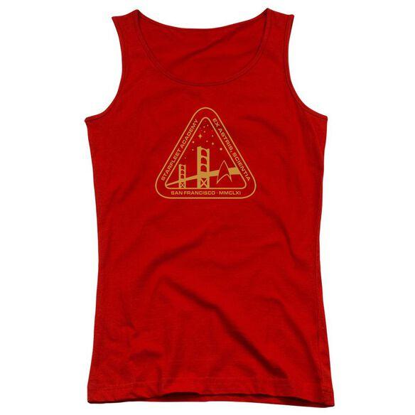 Star Trek Gold Academy - Juniors Tank Top - Red