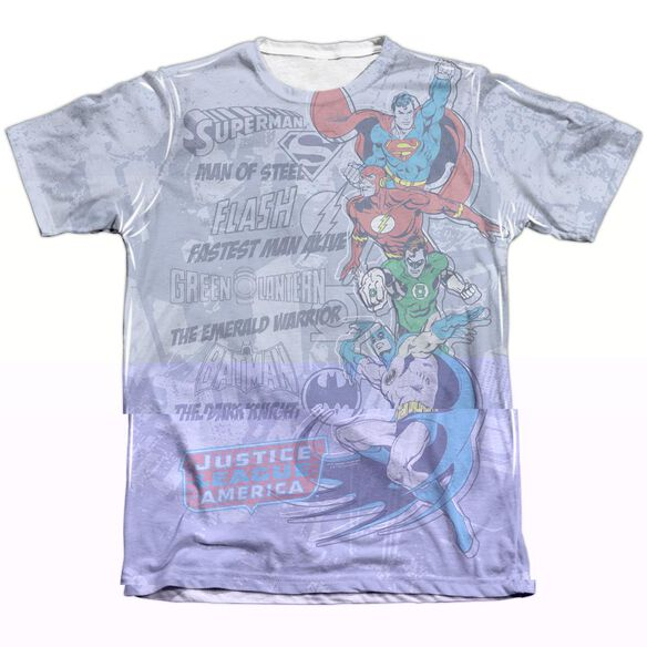 DC GOOD GUYS - ADULT 65/35 POLY/COTTON S/S TEE - WHITE T-Shirt