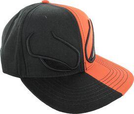 Deathstroke Eyes Split Color Snap Hat