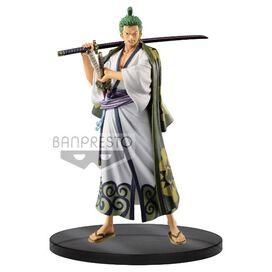 One Piece - Roronoa Zoro Wanokuni The Grandline Men Vol 2 DXF PVC Figure