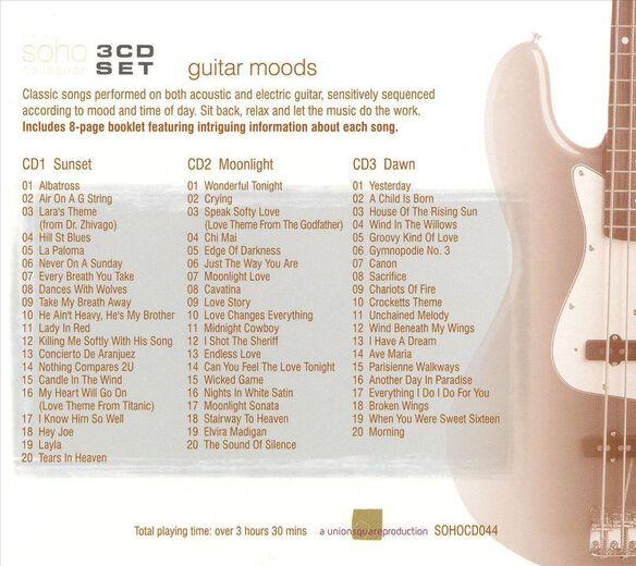 Guitar Moods(3 Cd) 1105